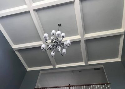 coffered ceiling Robbinsville New Jersey