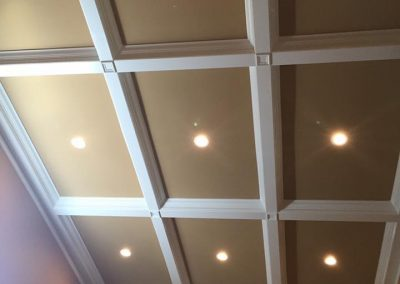 coffered ceiling Warren NJ